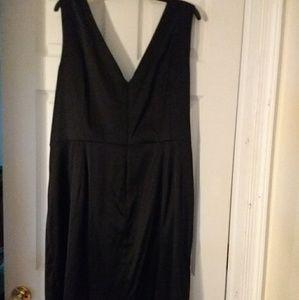 Donna Ricco Black Cocktail Dress Size 22